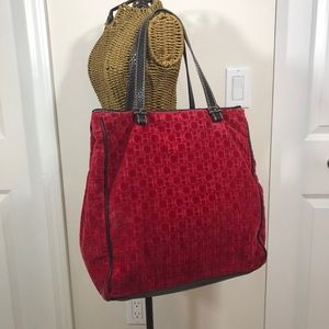 Carolina Herrera Red Tote